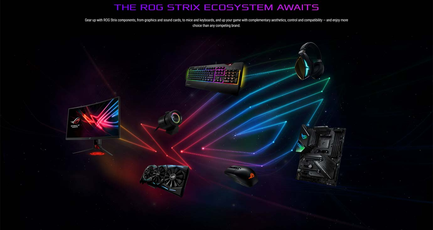 THE ROG STRIX ECOSYSTEM AWAITS