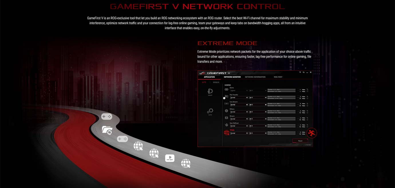 GAMEFIRST V NETWORK CONTROL