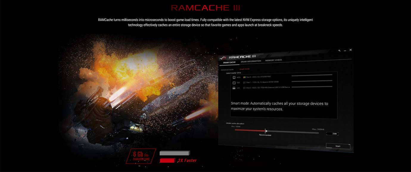 RAMCACHE III