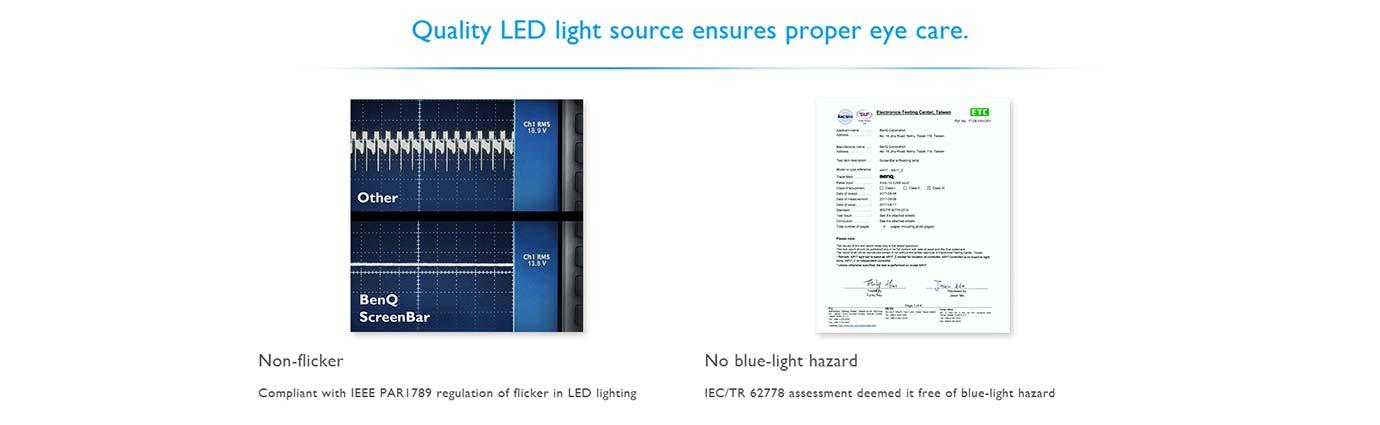 Quality LED light source