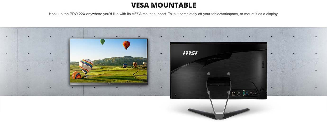 VESA MOUNTABLE