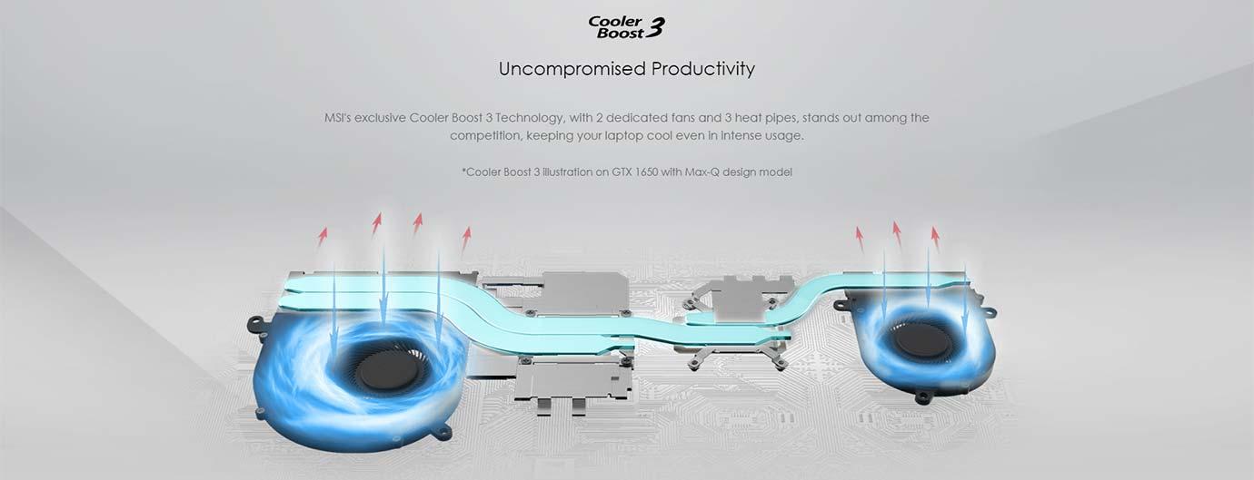Cooler Boost 3 Technology