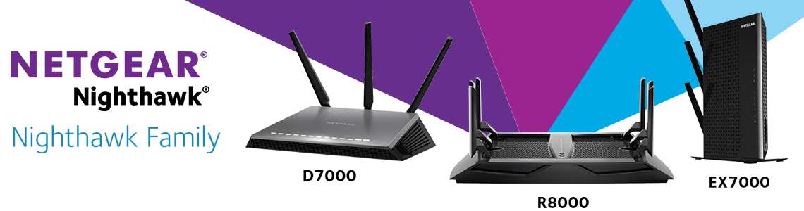 Netgear Nighthawk family