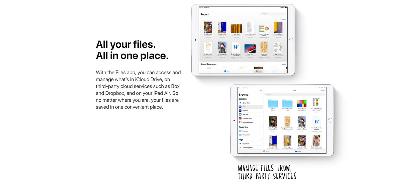 All your files. All in one place
