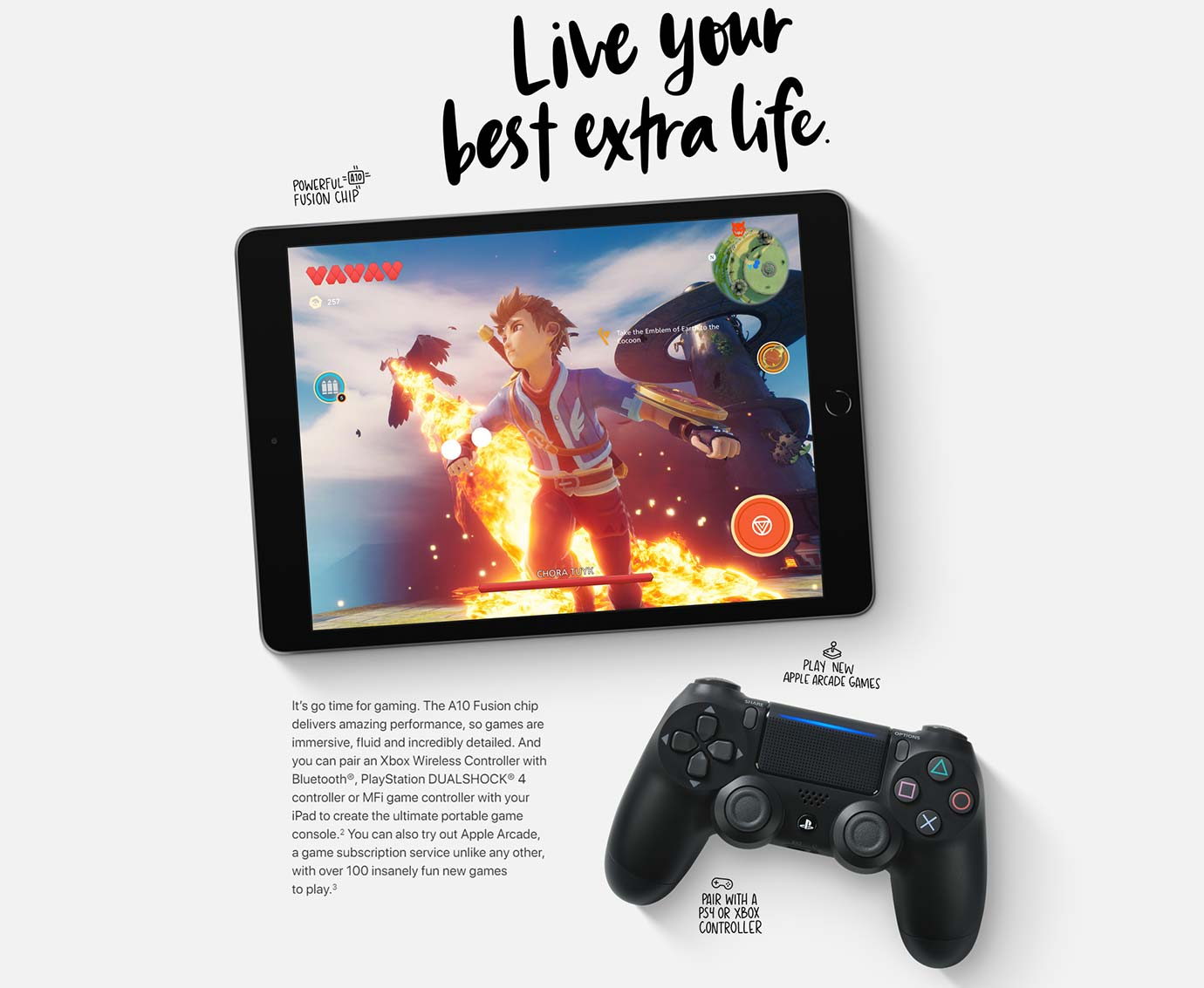 Live your best extra life