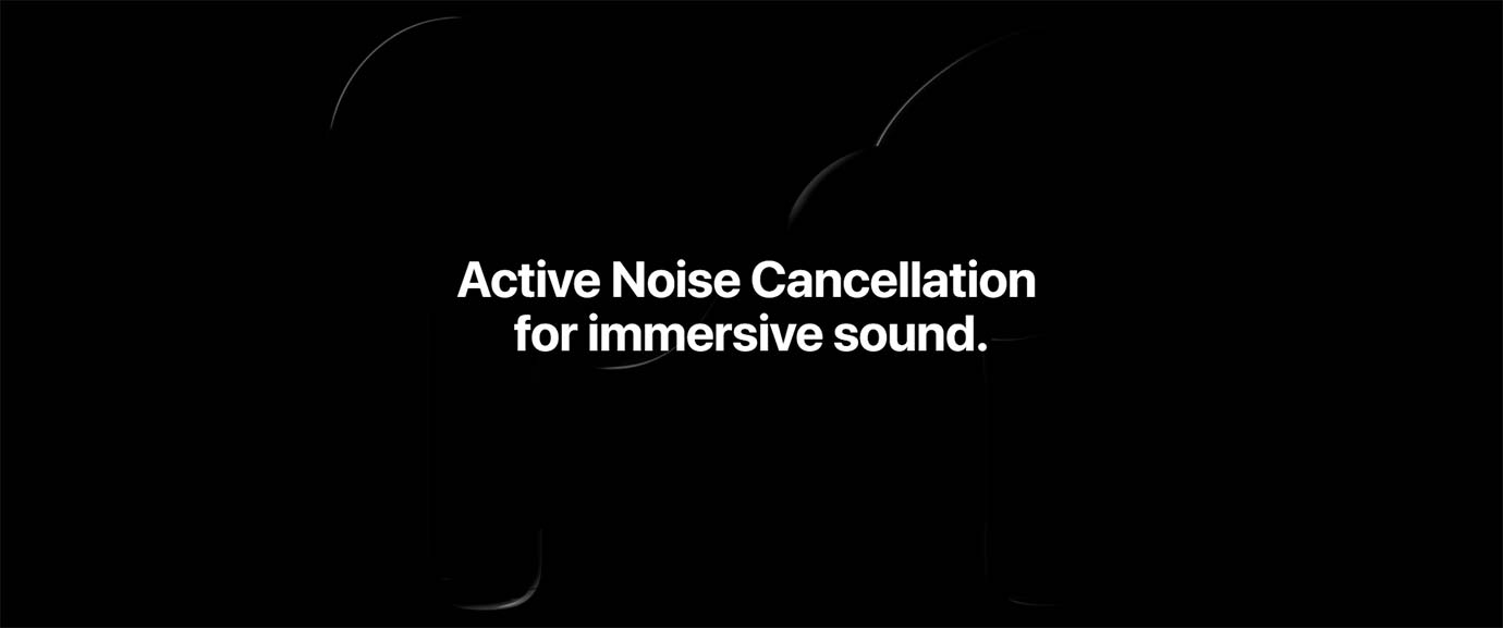 Active Noise Cancellation for immersive sound