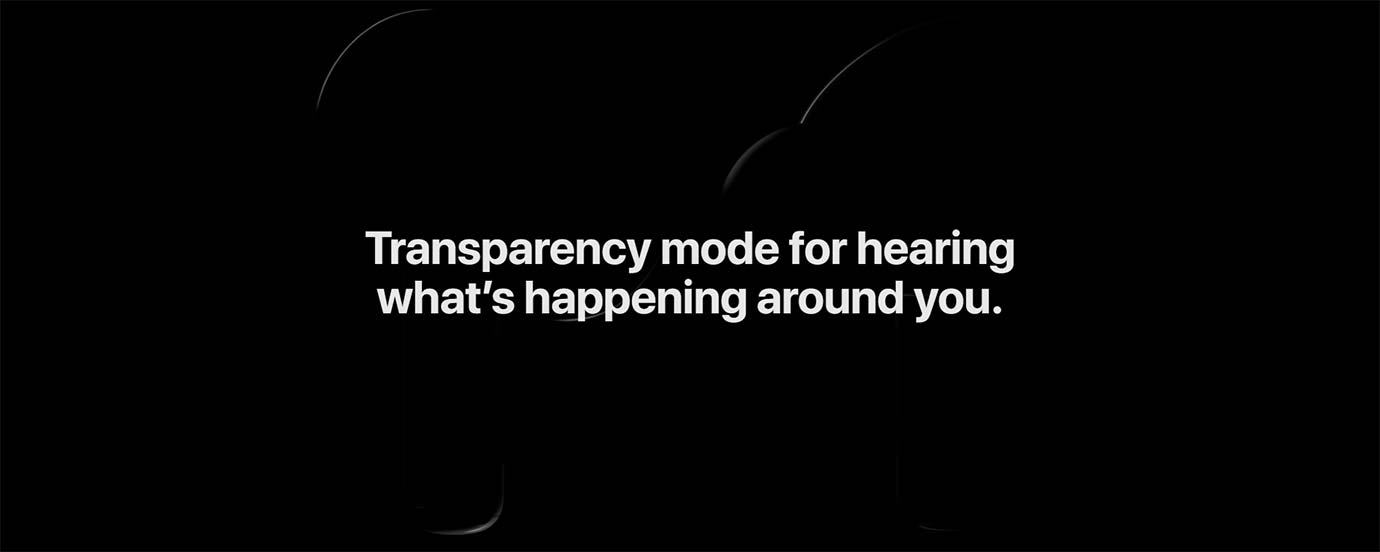 Transparency mode