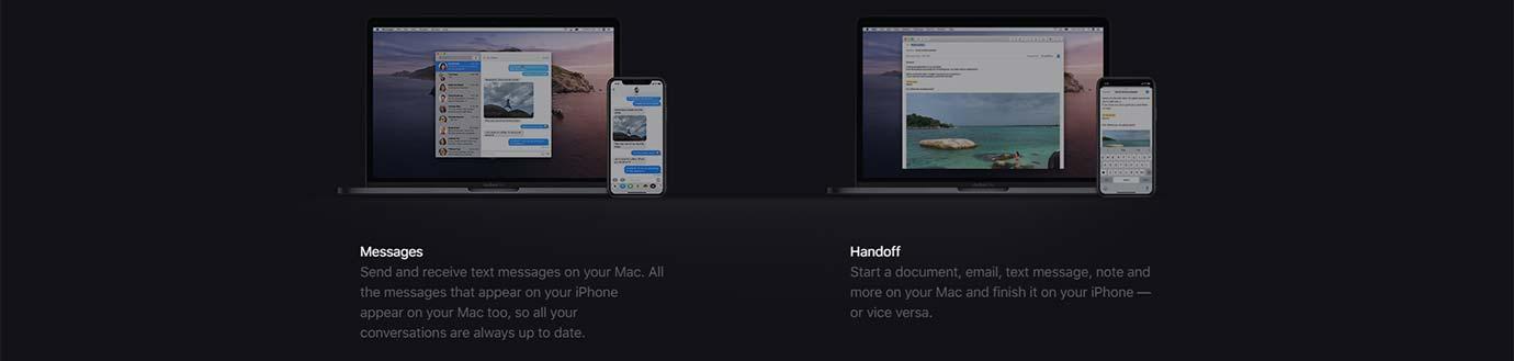 Mac + iPhone