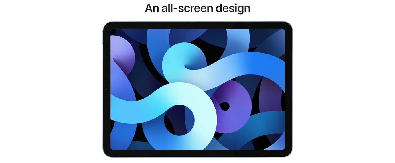 An all-screen design