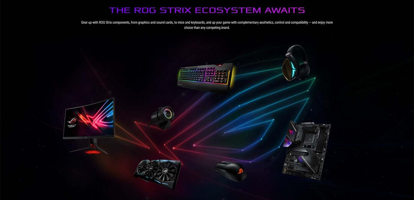 THE ROG STRIX ECOSYSTEM AWAITS