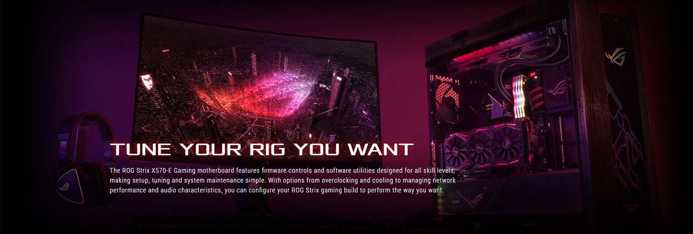 TUNE YOUR RIG YOU WANT