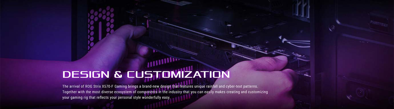 DESIGN & CUSTOMIZATION