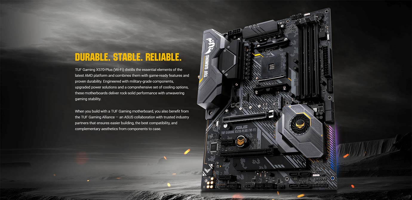 DURABLE. STABLE. RELIABLE
