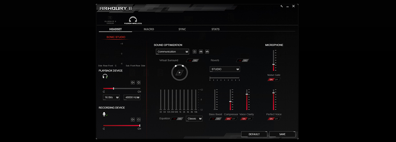 ROG Armoury Software