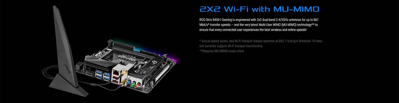 2X2 Wi-Fi with MU-MIMO