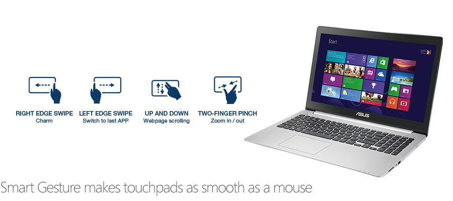 Smart Gesture makes touchpads as smooth as a mouse