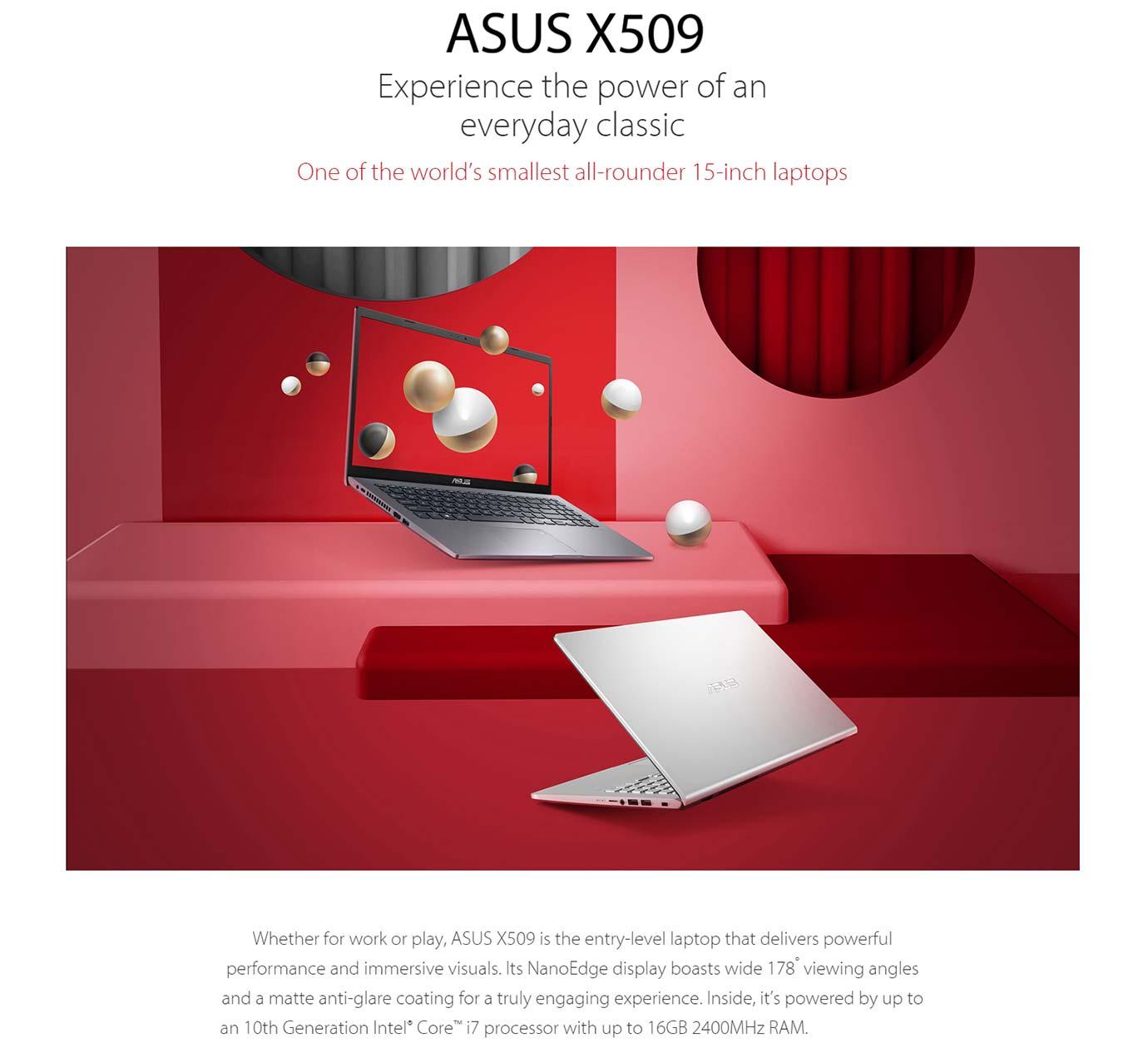 ASUS Laptop 15 X509JA
