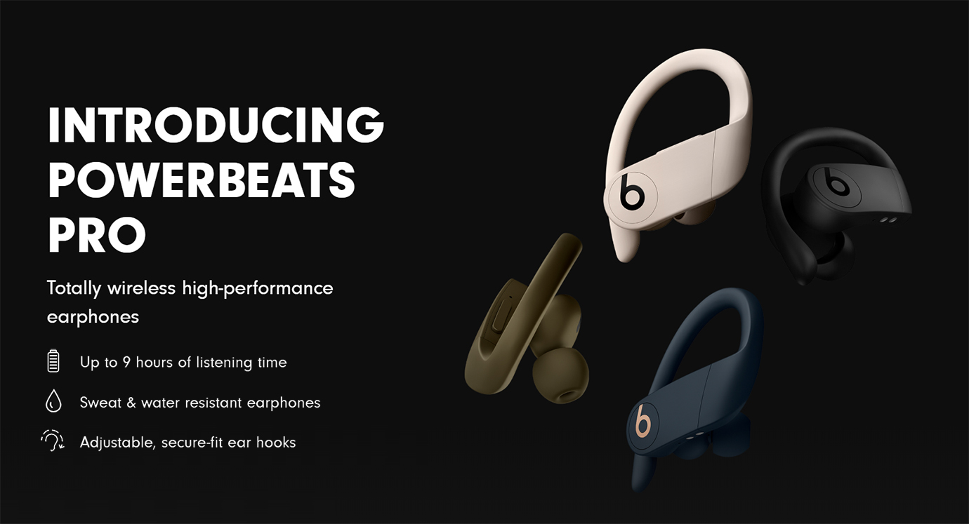 Beats Powerbeats Pro - Totally Wireless Earphones