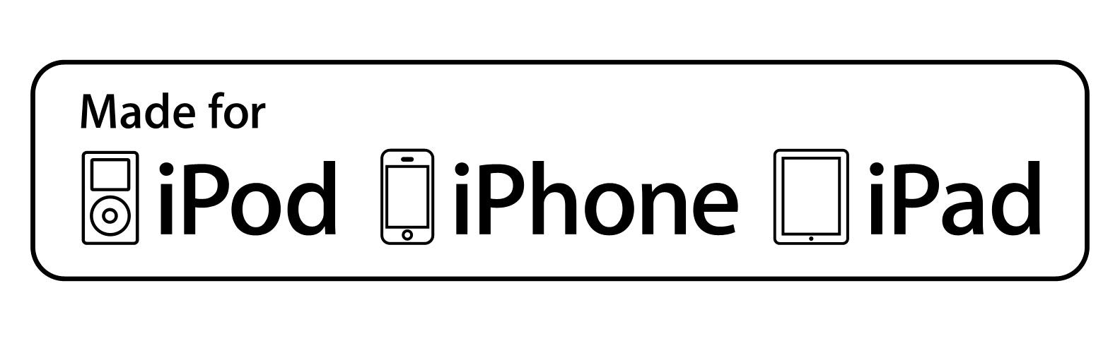 Made for iPod iPhone iPad