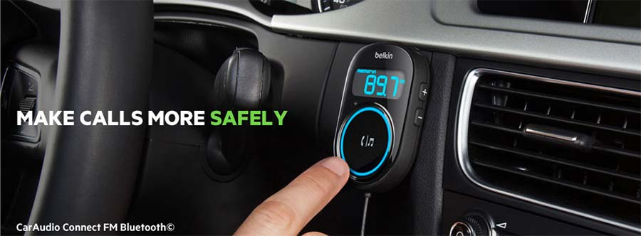 Car Audio Connect FM Bluetooth