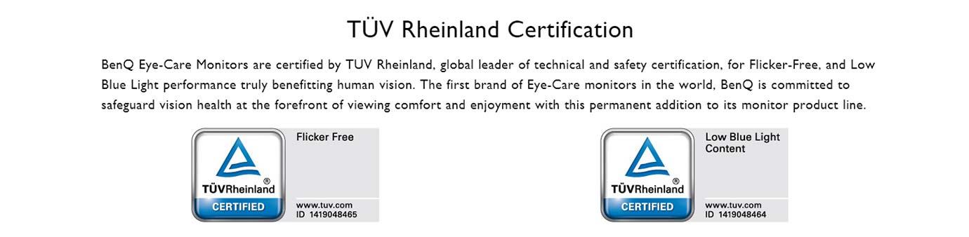 TÜV Rheinland Certification
