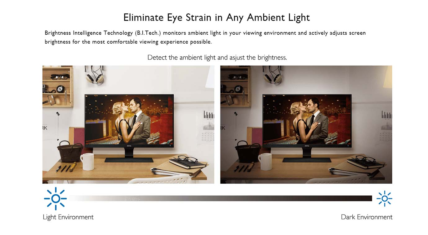 Eliminate Eye Strain in Any Ambient Light