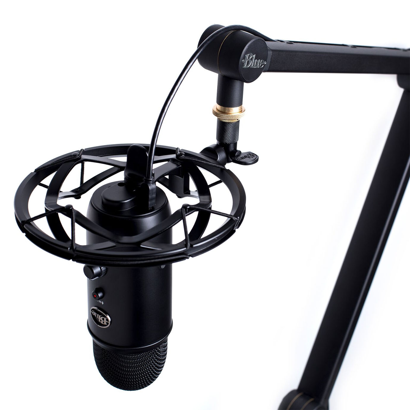 Blue Microphones Radius III Shockmount for Yeti and Yeti Pro - Black