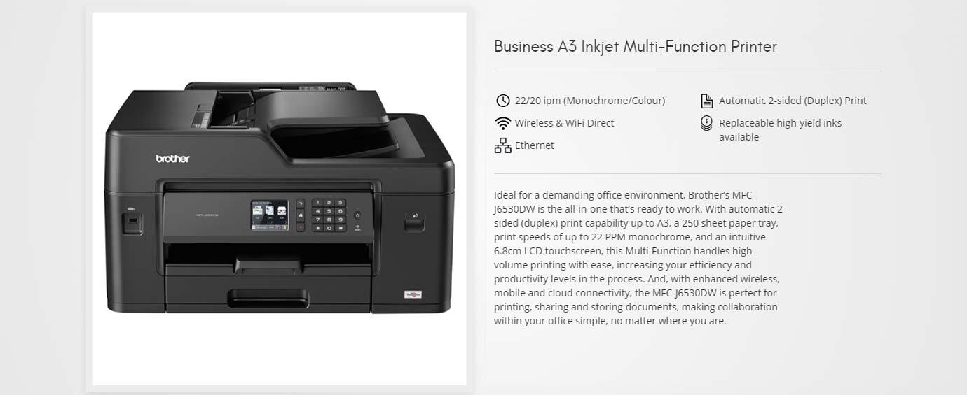 Business A3 Inkjet Multi-Function Printer
