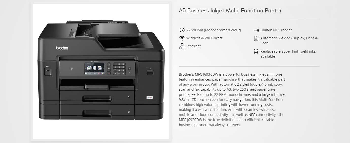 A3 Inkjet Multi-Function Printer