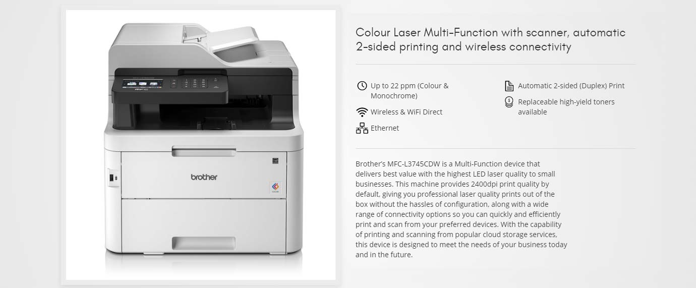 Colour Laser Multi-Function Printer