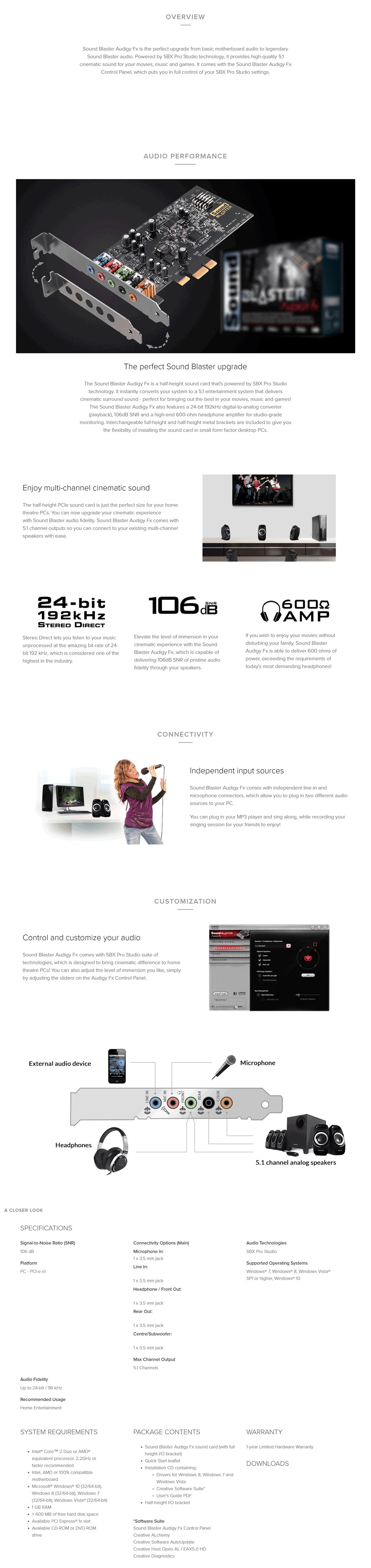 Creative AudigyFX