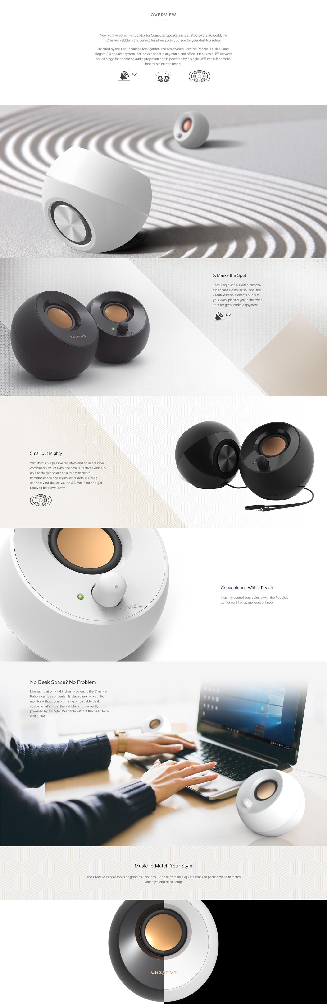 Creative Pebble 2.0