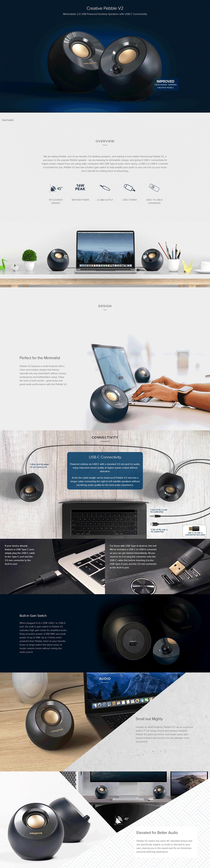 Creative Pebble V2 USB-C Speakers