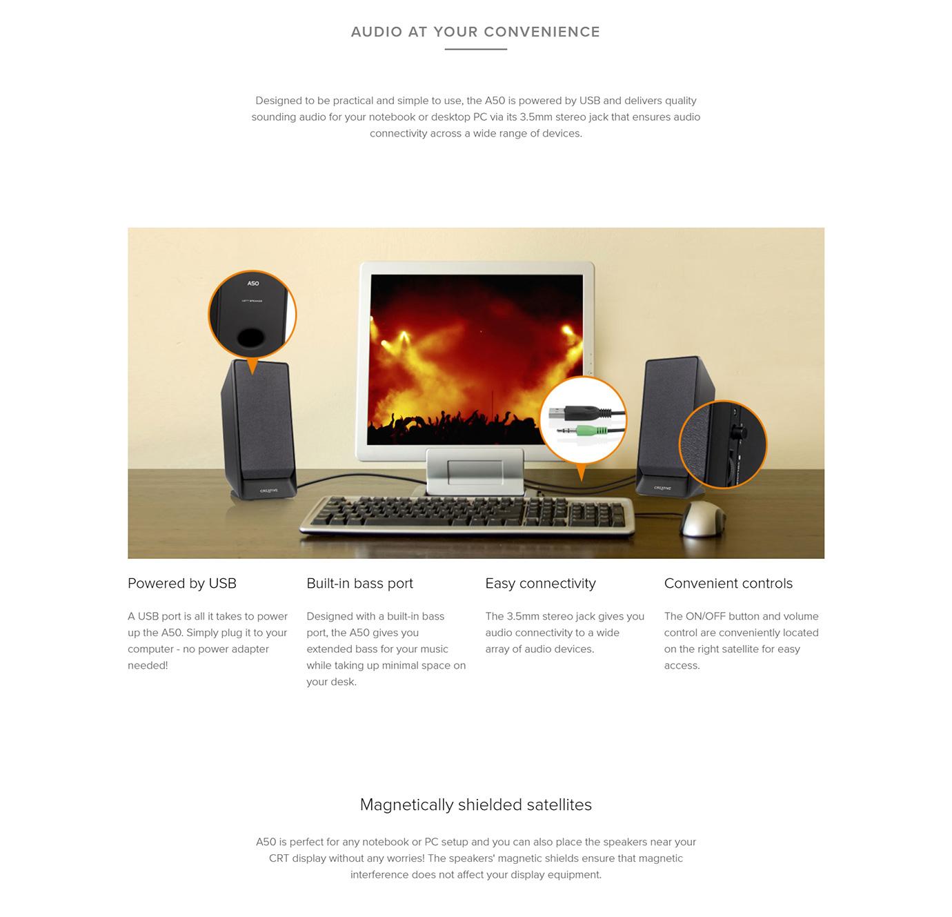 Creative SBS A50