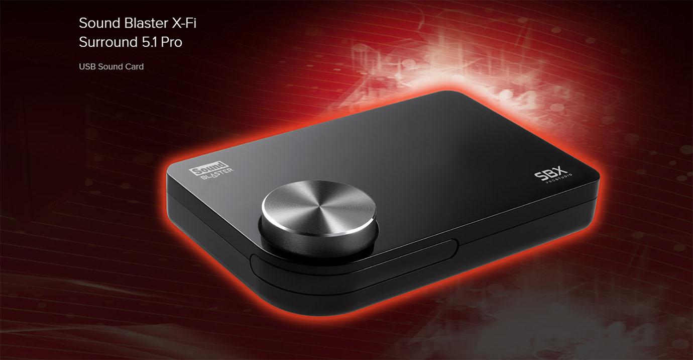 Creative Sound Blaster X-Fi Surround 5.1 Pro Soundcard