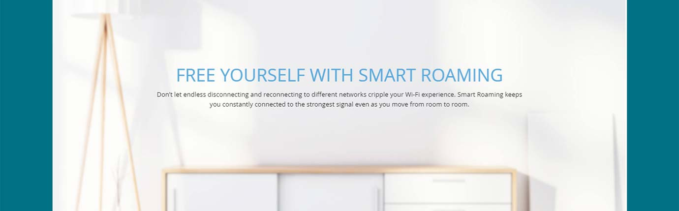 FREE YOURSELF WITH SMART ROAMING