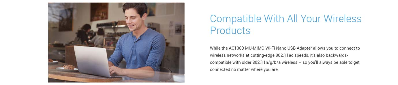 Compatible With All Your Wireless Products