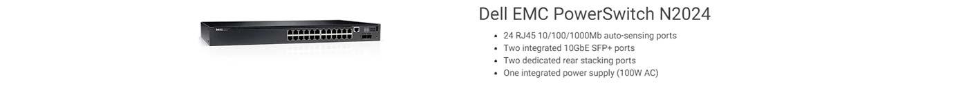 Dell EMC PowerSwitch N2024
