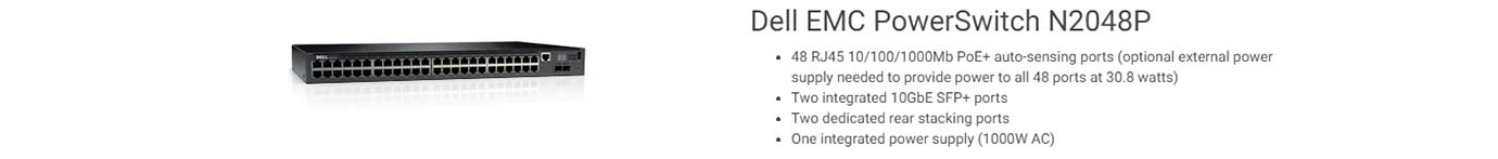 Dell EMC PowerSwitch N2048P