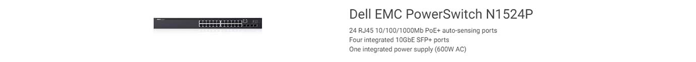 Dell EMC PowerSwitch N1524P