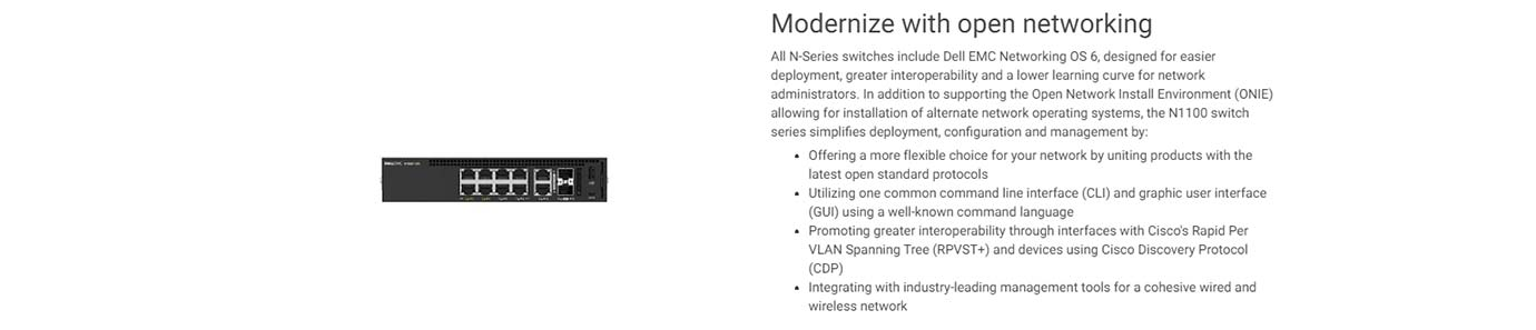Modernize with open networking