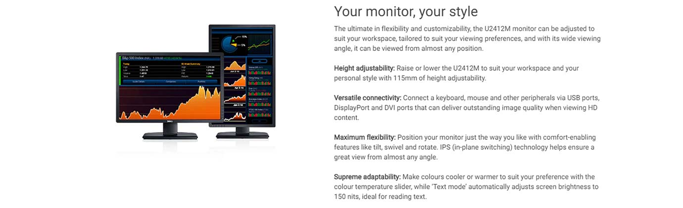 Your monitor, your style