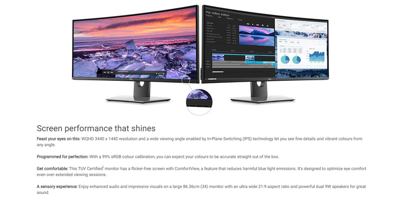 Screen performance that shines