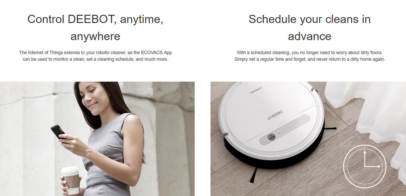 Ecovacs Deebot OZMO 610 Robot Vacuum Cleaner