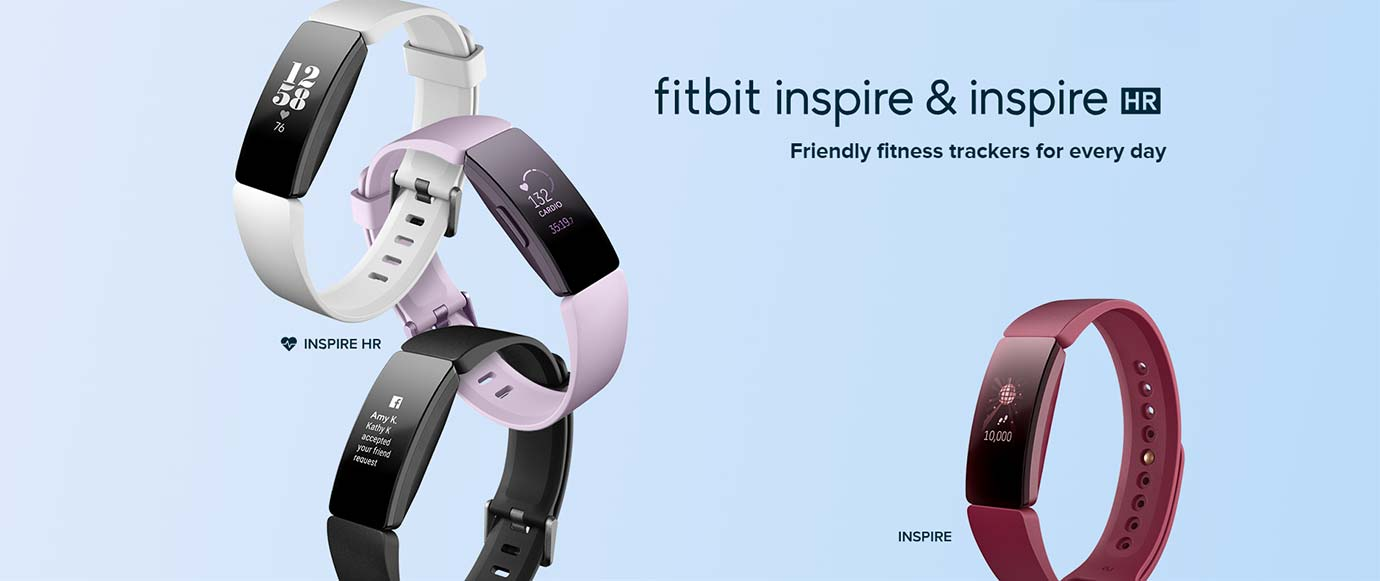 fitbit inspire & inspire HR