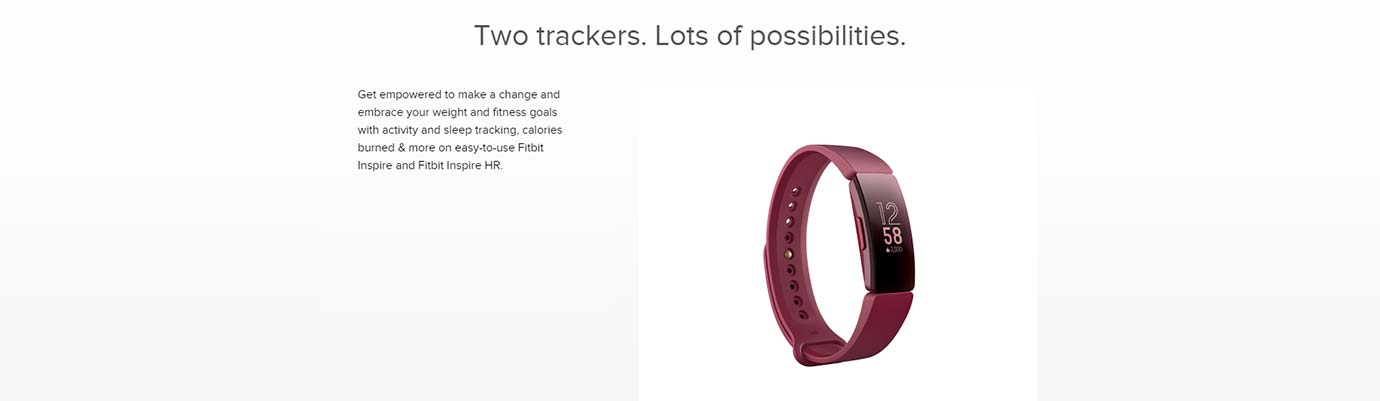 Two trackers. Lots of possibilities.