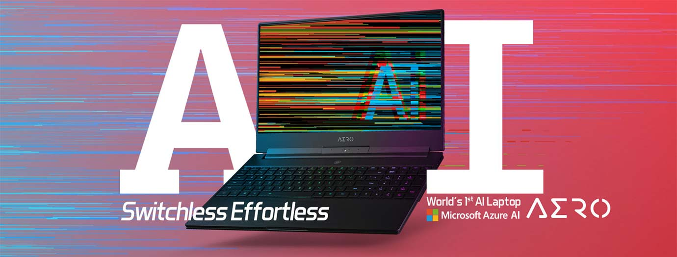 World 1st AI Laptop Microsoft Azure AI AERO