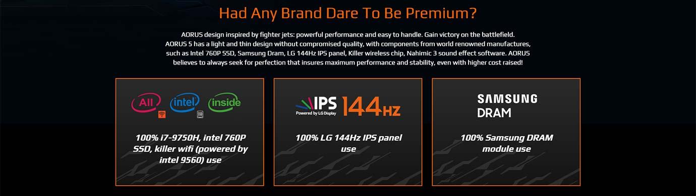 Had Any Brand Dare To Be Premium?