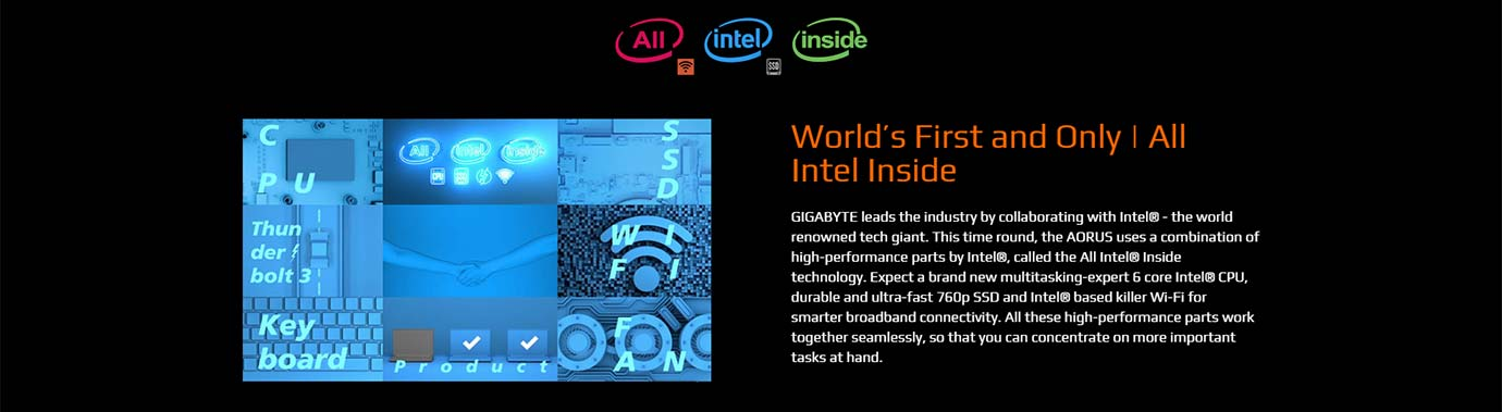 World's First and Only All Intel Inside