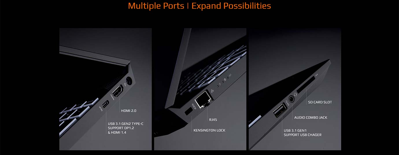 Multiple Ports | Expand Possibilities